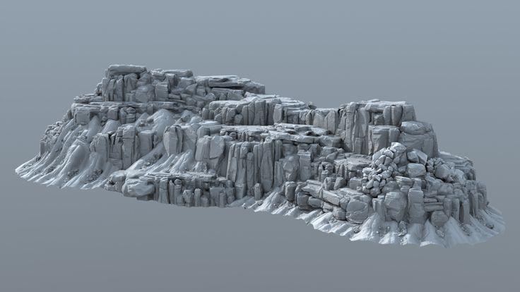 ArtStation - Realtime Pack - Terrain 1, Justin Owens