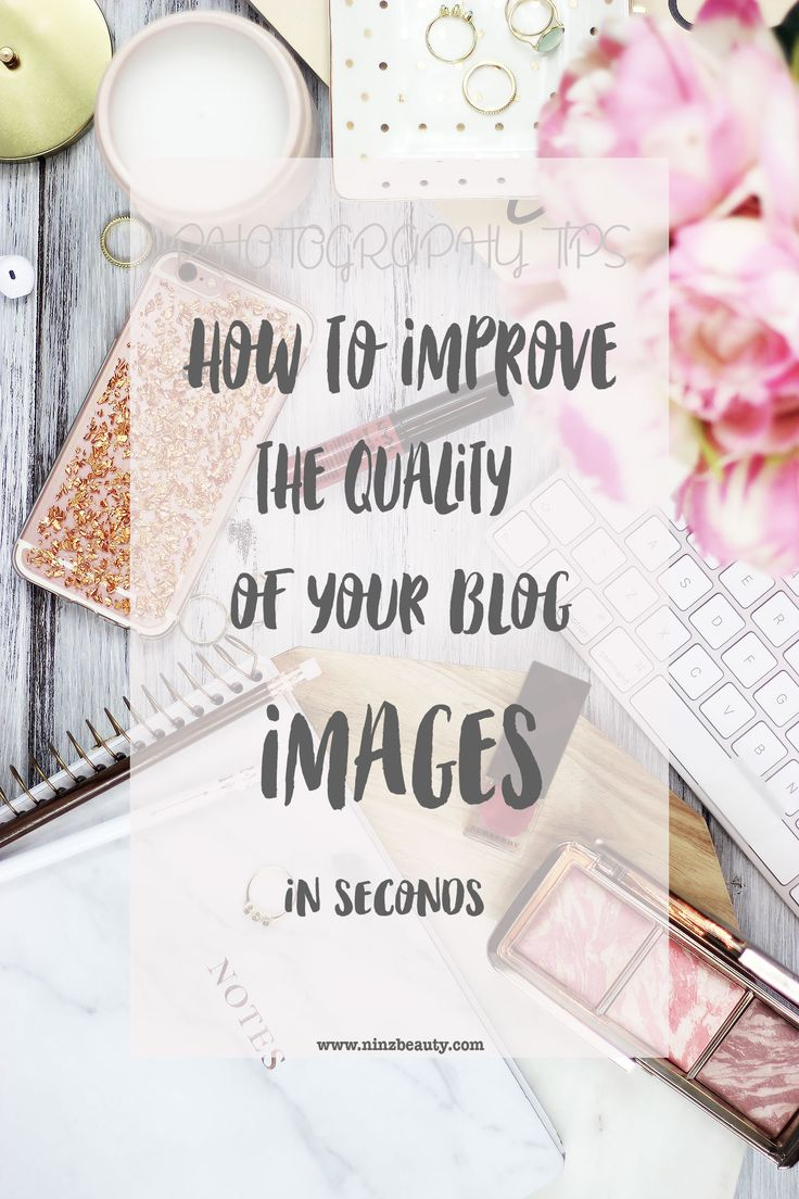 Improving the quality of your photos can have great impact on your blog. Make your images appear sharper and clearer in seconds.