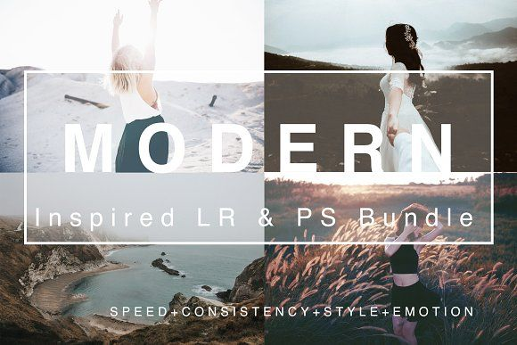 Modern Film Bundle 175+ LR & PS  by FilterCollective on @creativemarket