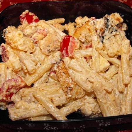 Csirkés tésztasaláta II. Recept képpel -   Mindmegette.hu - Receptek
