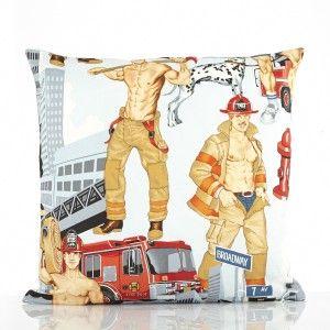 Firemen Cushion | http://bit.ly/FiremenCushion