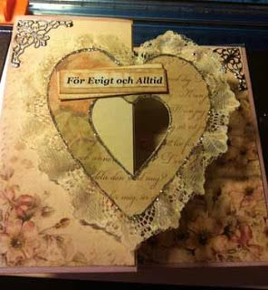 Växelhäxan från norrlands scrapbooking: Bröllopskort