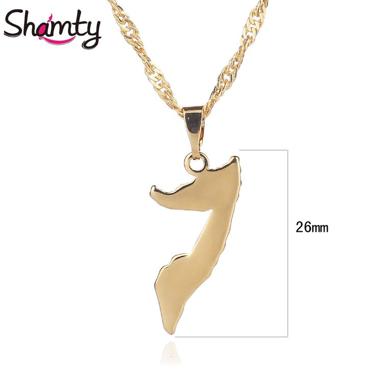 Best 25 gold pendants for men ideas on pinterest personalized shamty somalia necklace pendant for women men african jewelry fashion gold color high quality item d30090 aloadofball Images