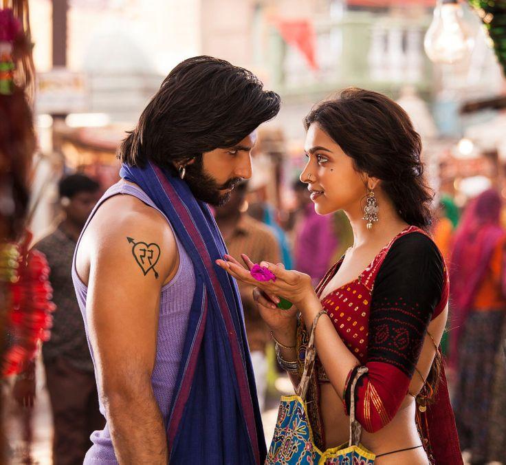 Ranveer Singh and Deepika Padukone - Ram Leela