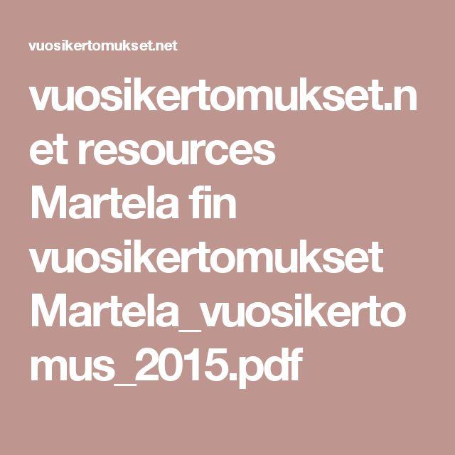 vuosikertomukset.net resources Martela fin vuosikertomukset Martela_vuosikertomus_2015.pdf