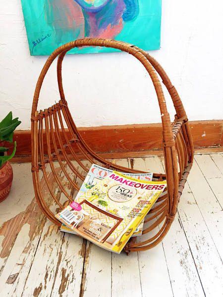 modern magazine rack