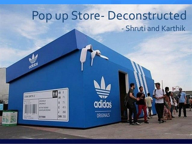 Pop up Store- Deconstructed - Shruti and Karthik