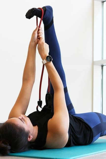 Pure Barre teacher and Fossil employee Marissa Driscoll's favorite accessory? Her Q Wander rose gold display smartwatch! It helps keep her fitness goals on track!