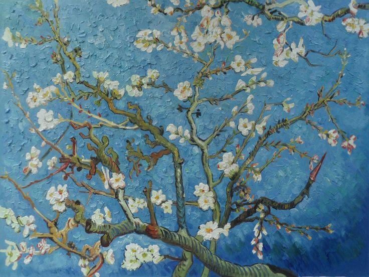 Van Gogh - Almond Trees.