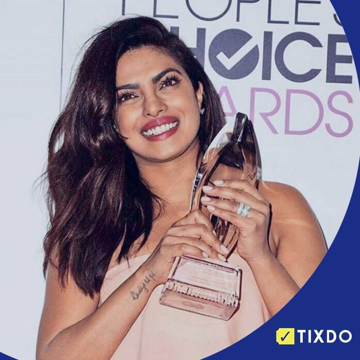 Thank you, Priyanka Chopra for making us proud and Congrats on your second People's Choice Awards.  Quantico // #PeoplesChoiceAwards // #Proud