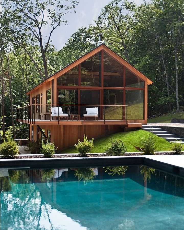 """17.6k Likes, 154 Comments - Architecture & Design Magazine (@d.signers) on Instagram: """"Perfect harmony between #Architecture and #Nature / Hudson Woods #House designed by Lang…"""""""
