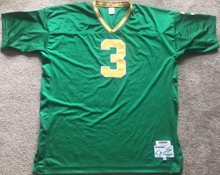 Notre Dame 1979 Joe Montana College Football Jersey #3 adidas 5XL 60   Sports Mem, Cards & Fan Shop, Fan Apparel & Souvenirs, College-NCAA   eBay!
