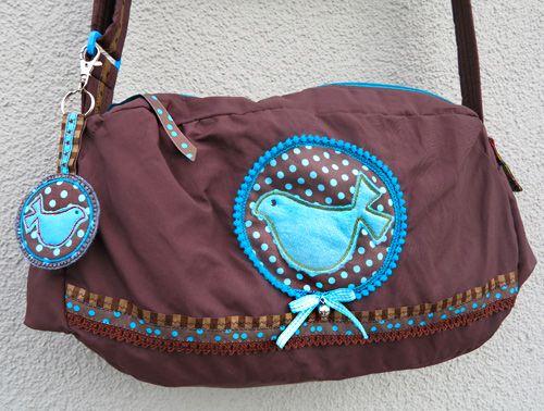 "Handtasche, Schultertasche ""AllesDabei"", farbenmix.de"