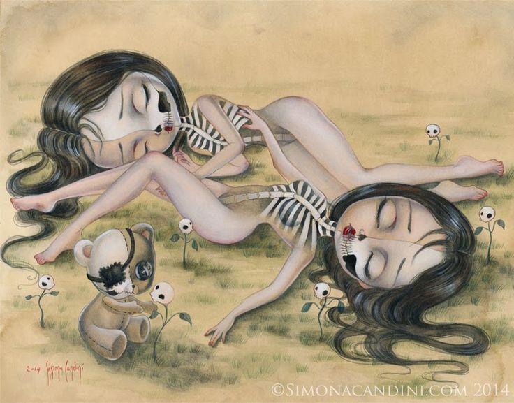 Simona Candini Art -News-: New Prints In Simona Candini Art Etsy Shop