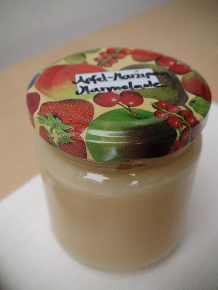Apfel-Marzipan-Marmelade
