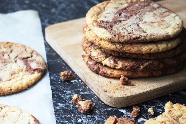 Tanya Burr's Salted Nutella Cookies