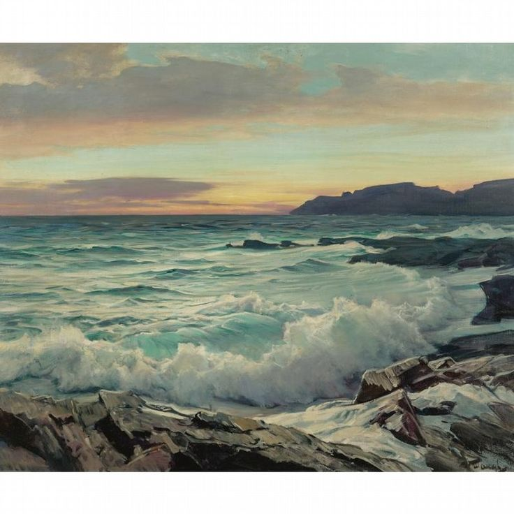 Frederick Judd Waugh Works on Sale at Auction & Biography | Invaluable