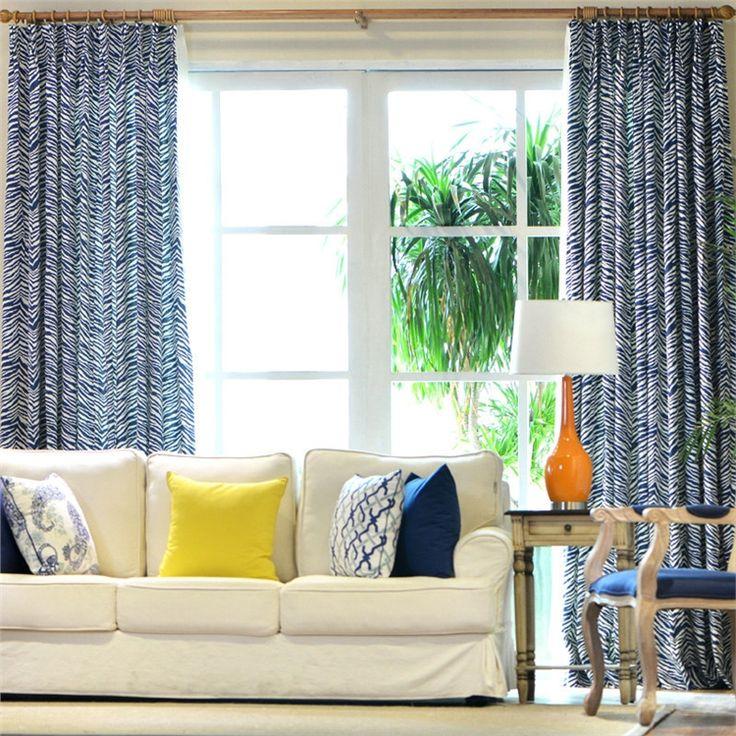 遮光カーテン オーダーカーテン 縞柄 3級遮光カーテン(1枚) PL017