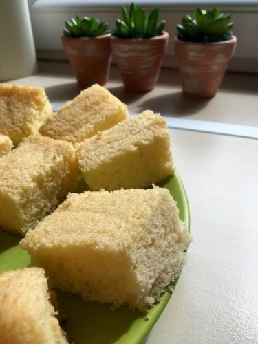 Rizslisztes piskóta - Sütemények - Gluténmentes övezet - blog