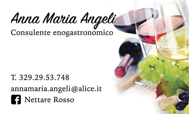 BV Anna Maria Angeli, Consulente Enogastronomico