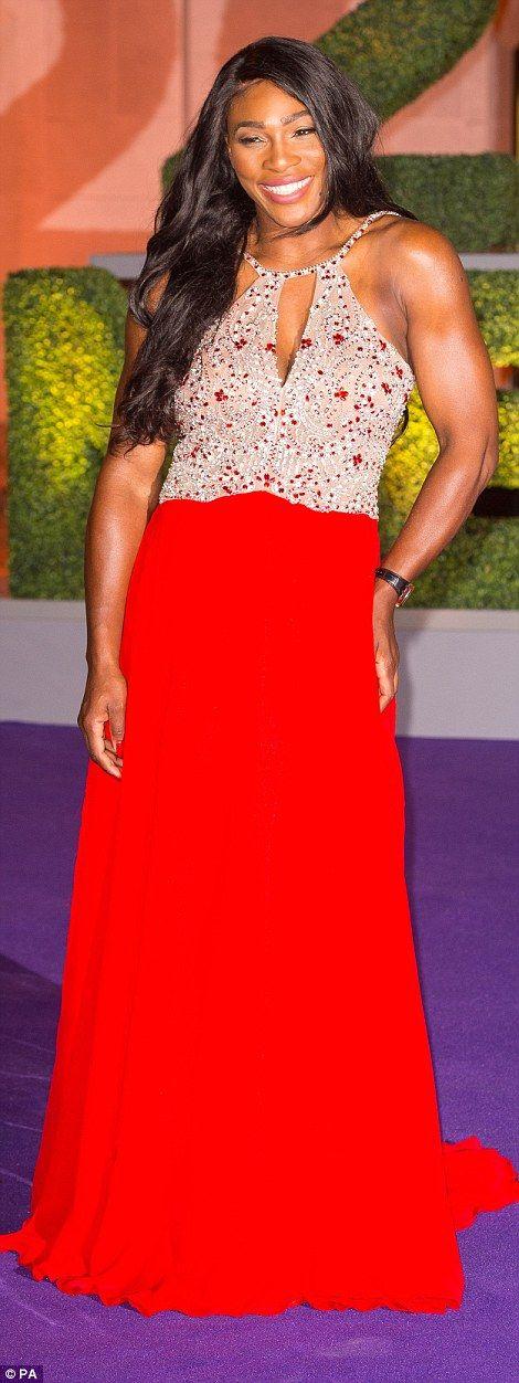 Serena Williams at the Wimbledon Champions Dinner