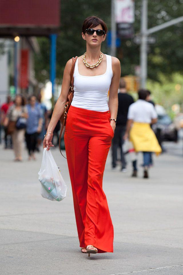 Album 79 – New York Fashion Week : Elle savent porter le pantalon | STYLE AND THE CITY - Paris Street style and Fashion week