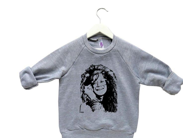 Janis Joplin Kids Sweatshirt, Hippie Baby Clothing, Toddler Girl Sweater, Boho Baby Clothes, 2 to 6 Years, Niece Gift, Woodstock Girl - http://www.babies-clothes.info/janis-joplin-kids-sweatshirt-hippie-baby-clothing-toddler-girl-sweater-boho-baby-clothes-2-to-6-years-niece-gift-woodstock-girl.html