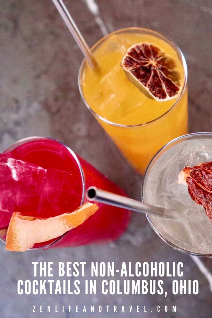 The Best Non Alcoholic Cocktails In Columbus Ohio In 2020 Healthy Cocktail Recipes Non Alcoholic Cocktails Alcoholic Cocktails
