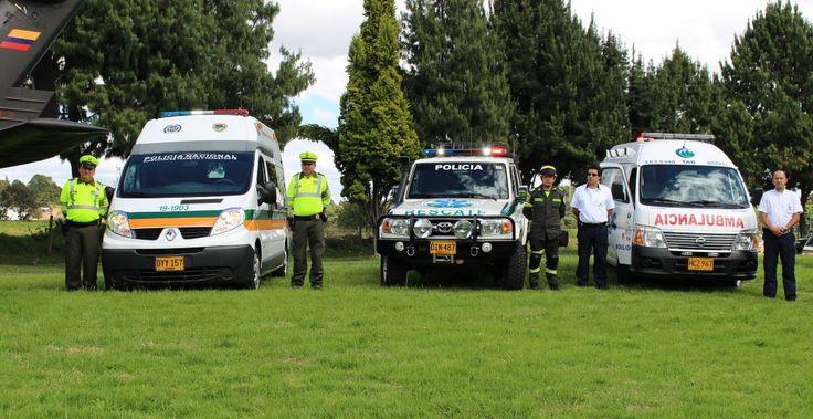 Estamos full equipados para atender cualquier emergencia en las vías del país.