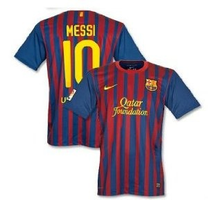 Official Nike Messi jersey. Barcelona home 2011-2012