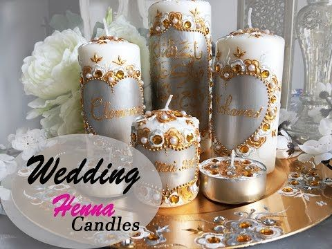 mariage orientale bougies personnalises bougies de henn incroyable personnalis recycler candles disgn 9c candles melts personnalises youtube - Bougie Henn Mariage