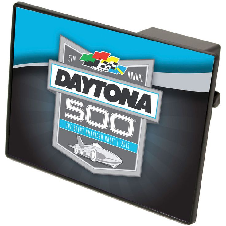 2016 Daytona 500 Trailer Hitch Cover