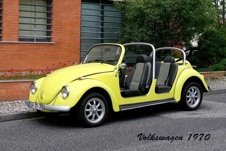 """Volkswagen """"carocha"""", modelo 1200, de 1970"""