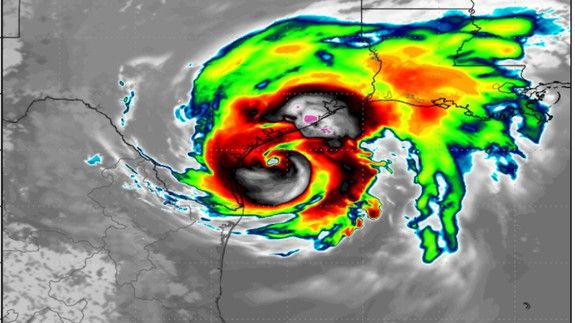 Worst case scenario looms for Texas with Hurricane Harvey