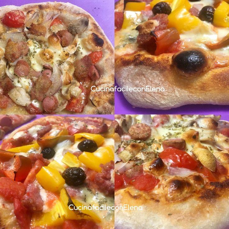 Favolosa questa pizza che lievita in frigo, per farla non vi sporcate le mani e non servono impastatrici, sofficissima e digeribile con soli 2 g di lievito!