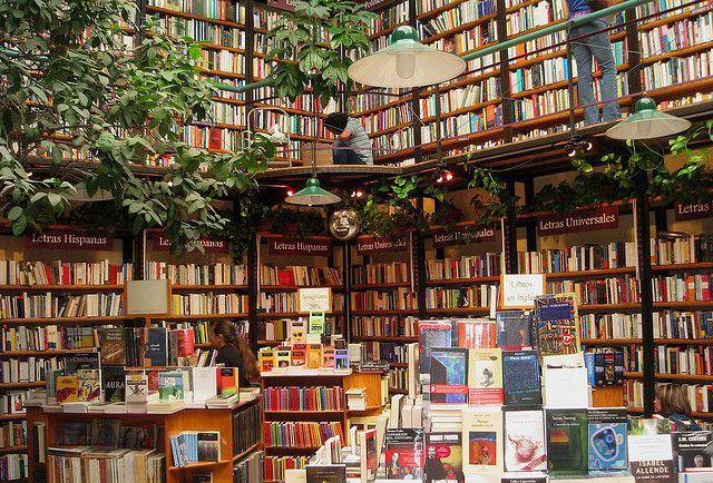 Cafe-Librería El Péndulo, Sucursal Polanco... un lugar mágico!