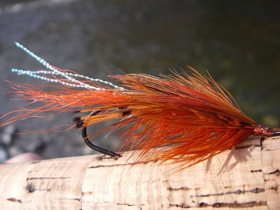 General PractitionerGP Fly fishing Fly for Steelhead by Ayuflytyer