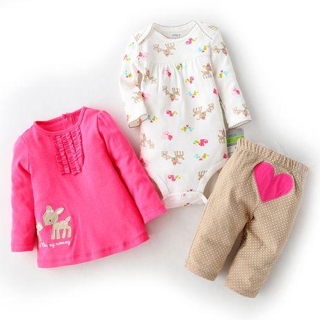 Дети внешней торговли оригинальный одной весны боди детское куртка + брюки из трех частей костюм младенца - Taobao