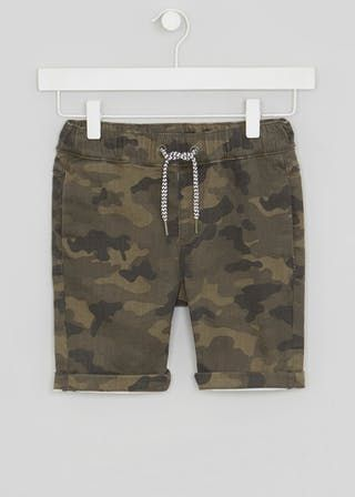 c0314a81a0 Boys Camo Jersey Denim Shorts (4-13yrs) | Jack | Kids outfits, Denim ...