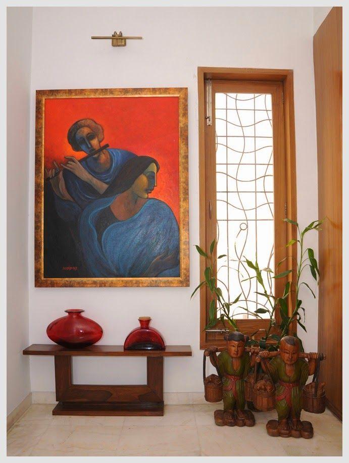 Sophisticated Simplicity Foyer IdeasHome Decor IdeasIndian