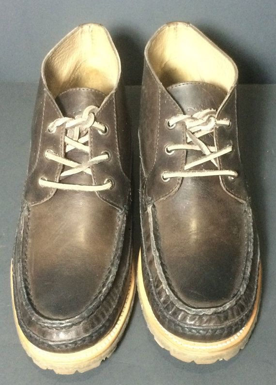 Frye 87460 Nolan Chukka Mid Lace Brown Leather Work Boots Men's Size 9.5  Price: $169.99