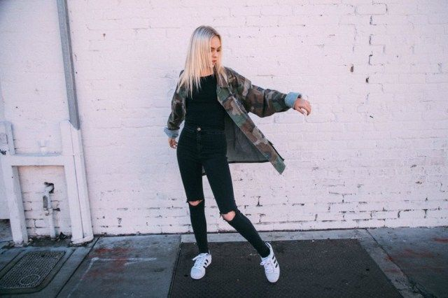 Jordyn Jones, Brooke Green Brandy Melville Photoshoot | JordynOnline | Jordyn Jones Web