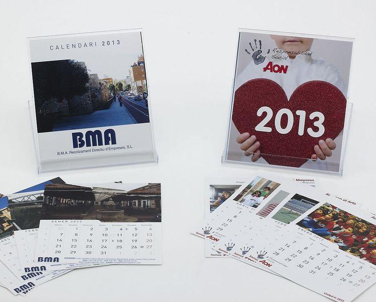 Calendari B.M.A Recolzament Directiu d'Empreses  Calendario AON responsabilidad social