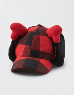 4c39b406061b0 AEO Plaid Earflap Baseball Hat by American Eagle Outfitters