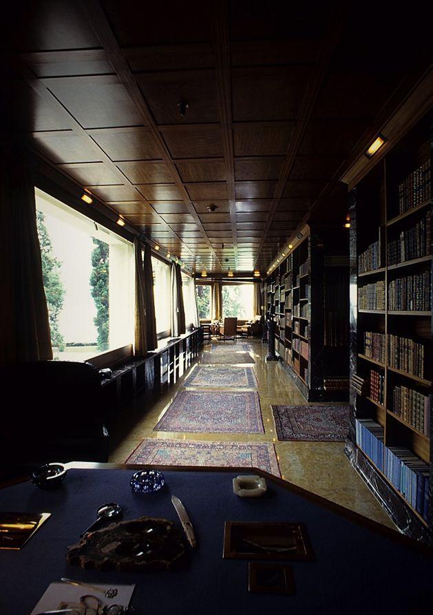 Biblioteca Villa karma Adolf loos