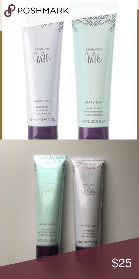 Mary Kay Enchanted Wish Body Lotion and Shower Gel NWOT Body Lotion and Shower Gel. Match the perfume I have for sale. Mary Kay Other
