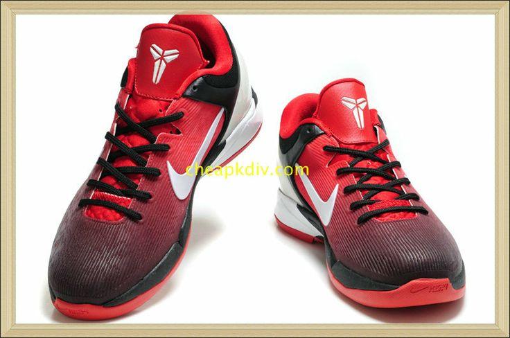 Nike Zoom Cheap Kobe 7 iD Fade Option Sport Red White #Red #Womens #