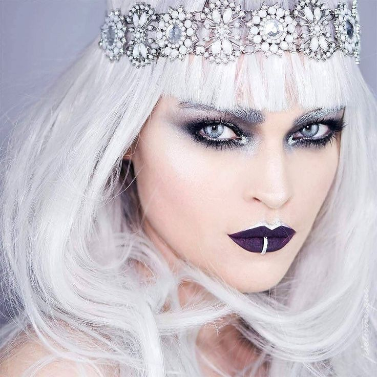 W I N T E R  W I T C H by @picturresque  #mehronmetallic #metallicpowder #silvermetallic  #mehrongirl #mehronmakeup #mehron #winterwitch  It's been awhile since we've posted one of these we thought you might like something new from our friends at @MehronMakeupNYC  Contact us at 585-482-8780 for more information or check out select costumes and accessories on our Amazon page or website www.arlenescostumes.com including theatrical makeup and tools  #makeup #theatricalmakeup #mehron #winter