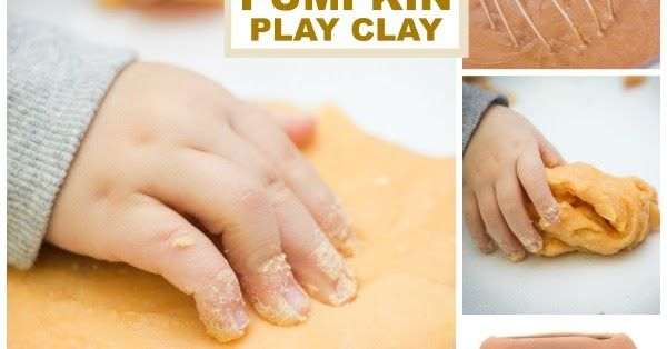 pumpkin play clay recipe