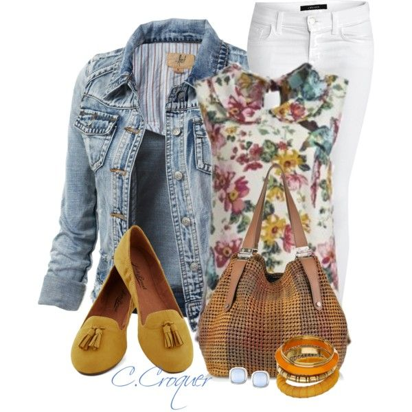 A Flower, created by ccroquer on Polyvore